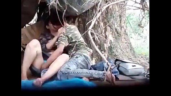 Myanmar Couple Outdoor Sex